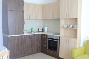 kitchen one bedroom apartment №7