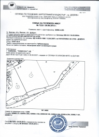 Land plot in the Town of Balchik, Damba alley, 10197 sq.m.